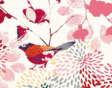 Product picture Photo Wall Mural Fancy Birds