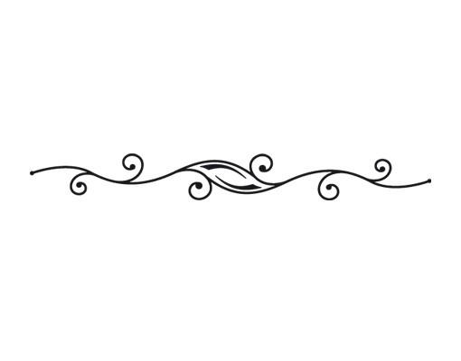 Produktfoto Fensterfolie - Fenstertattoo No.37 Ornament - Milchglasfolie