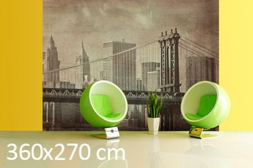 Product picture Photo Wall Mural Vintage New York