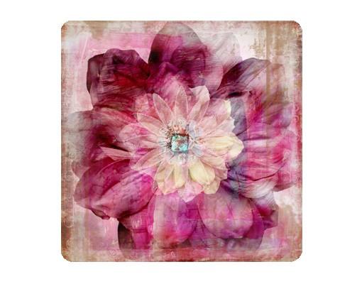 Produktfoto Selbstklebendes Wandbild Grunge Flower