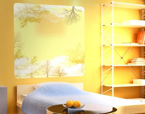 Produktfoto Selbstklebendes Wandbild Light Autumn