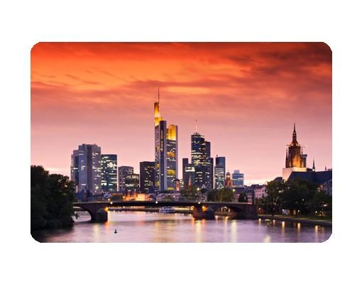 Produktfoto Selbstklebendes Wandbild Frankfurt Skyline