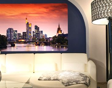 Produktfoto Wall Mural Frankfurt Skyline