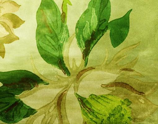 Produktfoto Selbstklebendes Wandbild Green Blossoms