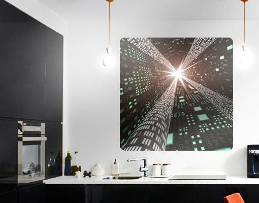 Produktfoto Selbstklebendes Wandbild Information Highway