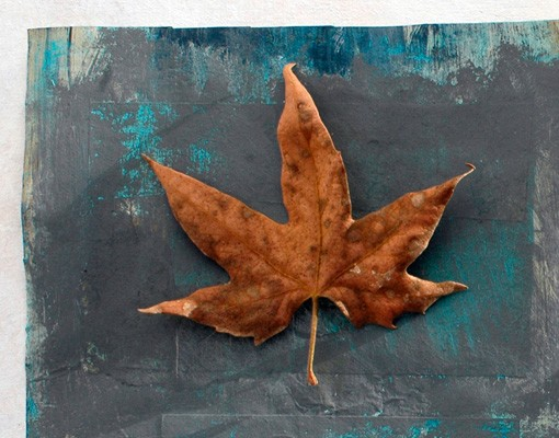 Produktfoto Selbstklebendes Wandbild Leaves Stilllife