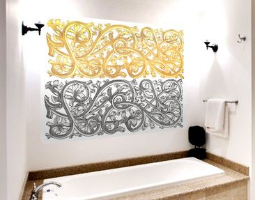 Produktfoto Wall Mural Gold Ornament