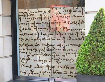 Immagine del prodotto Decorazione per finestre Da Vinci Manuskript