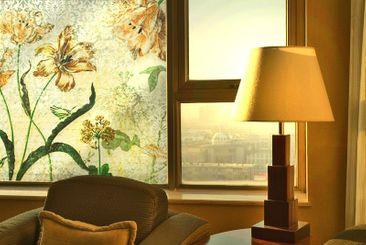 Immagine del prodotto Adesivi per finestre Vintage Grasses