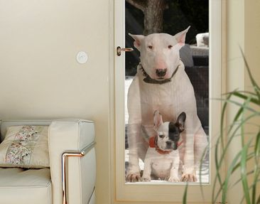 Produktfoto Window Sticker No.365 Bull Terrier And...