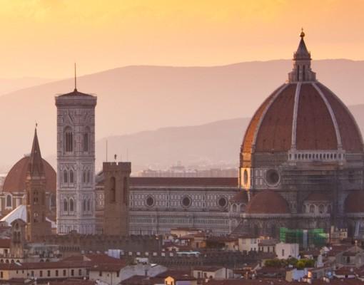 Produktfoto Selbstklebendes Wandbild Florenz