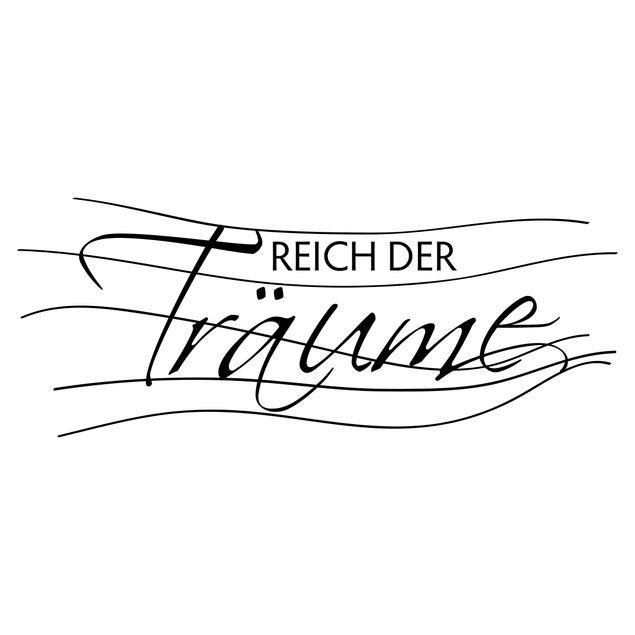 Produktfoto Wandtattoo Sprüche - Wandsprüche No.UL573 Reich der Träume
