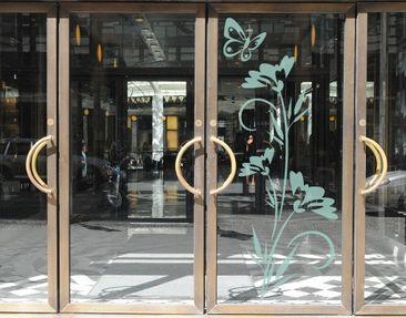 Immagine del prodotto Adesivo per finestre no.80 Floret