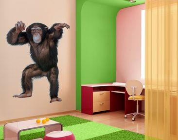 Product picture Wall Decal no.291 Cheery Monkey