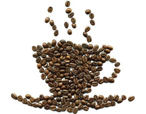 Produktfoto Wandtattoo No.294 Coffee Beans Cup