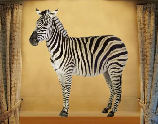 Produktfoto Wandtattoo Pferd No.387 Dickes Zebra