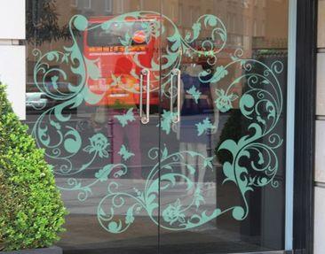 Produktfoto Fensterfolie - Fenstertattoo No.321 SommerTraum - Milchglasfolie
