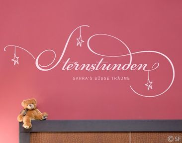 Produktfoto Wall Decal No.SF915 Own Words Star Hours