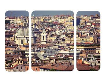Product picture Wall Mural The Rome Rooftops Triptychon ...