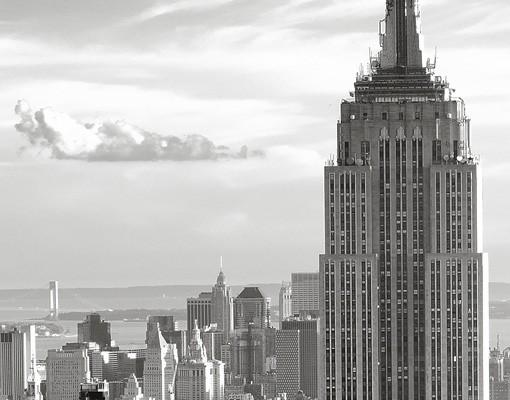 Produktfoto Selbstklebendes Wandbild Manhattan Skyline
