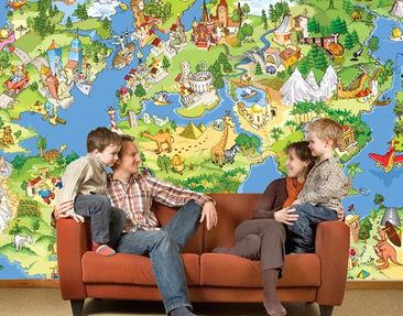 Produktfoto Photo Wall Mural Great And Funny...