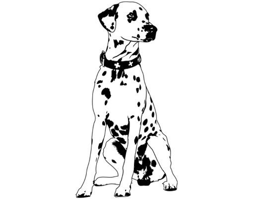Produktfoto Wandtattoo Hund No.TA2 Dalmatiner