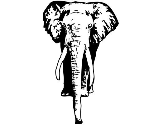 Produktfoto Wandtattoo Elefant No.TA8 Elefant