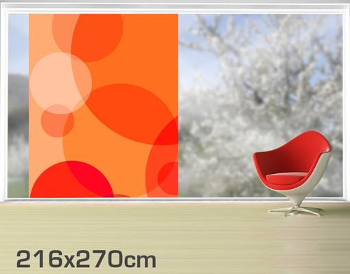 Produktfoto Fensterfolie - XXL Fensterbild Havanna Lounge - Fenster Sichtschutz
