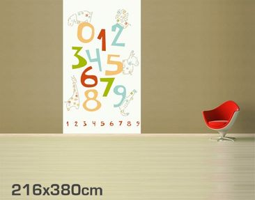 Product picture Photo Wall Mural Safari Numbers
