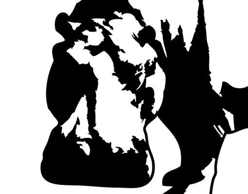 Produktfoto Selbstklebendes Wandbild No.TA12 Nilpferd