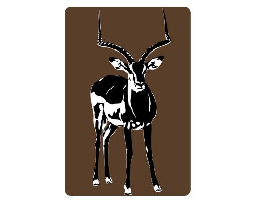 Produktfoto Selbstklebendes Wandbild No.TA13 Gazelle