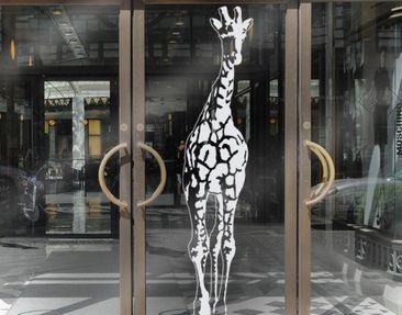 Produktfoto Fensterfolie - Fenstertattoo No.TA1 Giraffe - Milchglasfolie