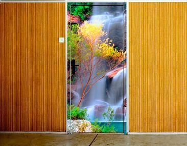 Produktfoto Türtapete Wasserfall selbstklebend - Summer Fairytale