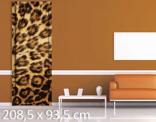 Produktfoto TürTapete Jaguar Skin