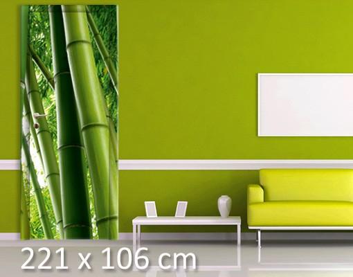 Produktfoto Türtapete Bambus selbstklebend - Bamboo Trees No.2