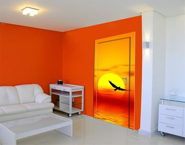 Produktfoto Door Wall Mural Fabulous Sunset