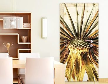 Product picture Door Wall Mural Dandelion Close-up