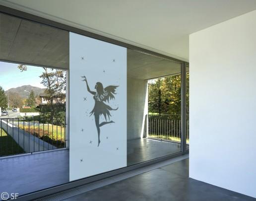 Produktfoto Fensterfolie - Sichtschutzfolie No.SF939 Sternenelfe - Milchglasfolie