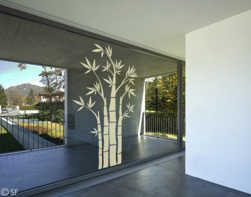 Produktfoto Fensterfolie - Fenstertattoo No.SF949 Bambus - Milchglasfolie