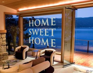 Product picture Window Sticker no.SF953 Home Sweet Home...