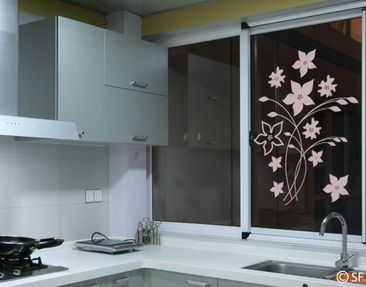 Product picture Window Sticker no.SF961 Gorgeous Flowers