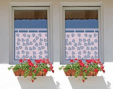 Product picture Blind no.UL7 Scattering Flowers Curtain...