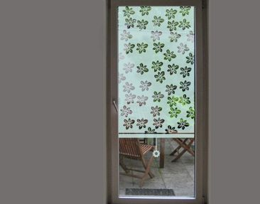 Product picture Blind no.UL7 Scattering Flowers Shutter...