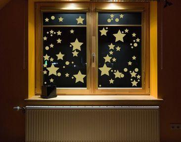 Produktfoto Fensterfolie - Fenstertattoo No.CG106 Milchstraße - Milchglasfolie