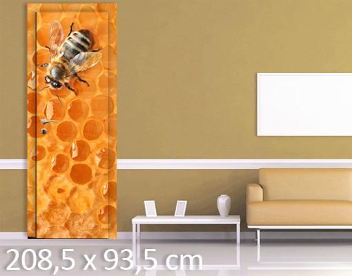 Produktfoto TürTapete Honey Bee