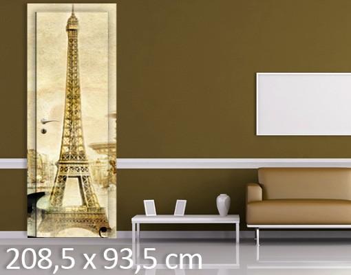 Produktfoto Türtapete Paris - Paris Mon Amour