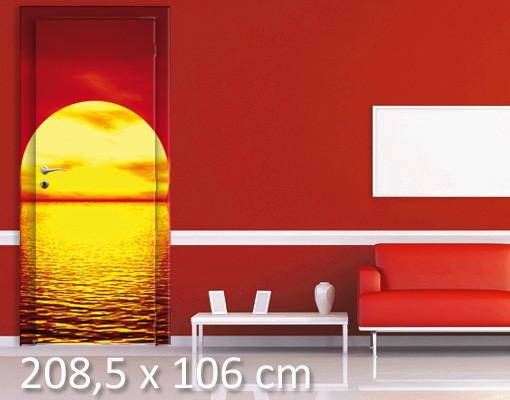 Produktfoto TürTapete Fantastic Sunset