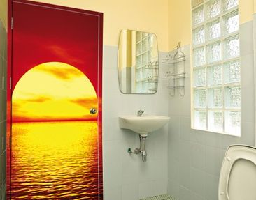 Produktfoto Door Wall Mural Fantastic Sunset