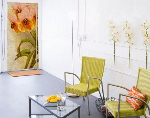 fototapete blumen g nsebl mchen tapete selbstklebend. Black Bedroom Furniture Sets. Home Design Ideas