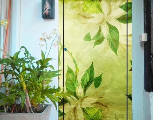 Produktfoto TürTapete Green Blossom